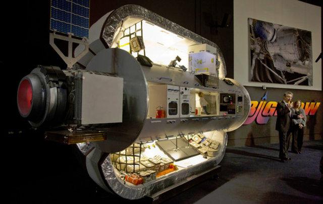 NASA'dan Mars'a şişme ev