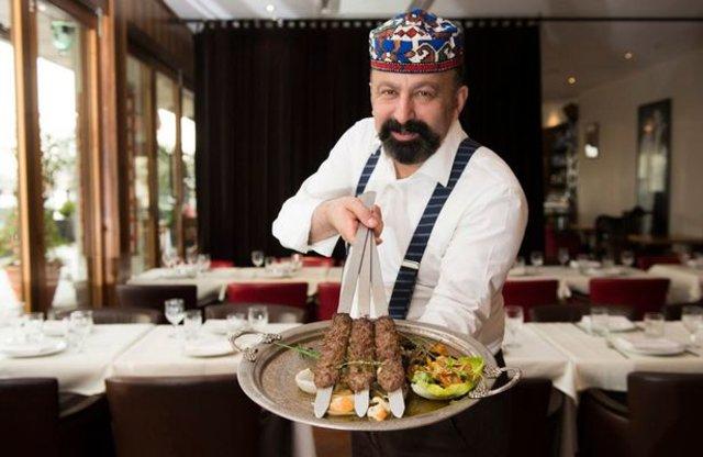 Türk kebapçı dünyanın en pahalı şiş kebabını satıyor
