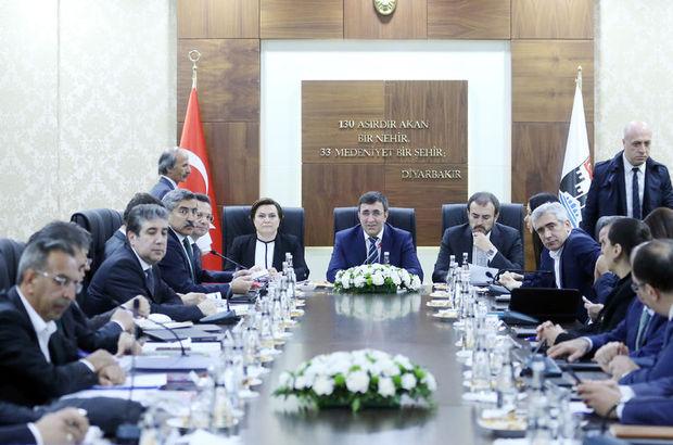 3 bakandan Diyarbakır'da ortak açıklama