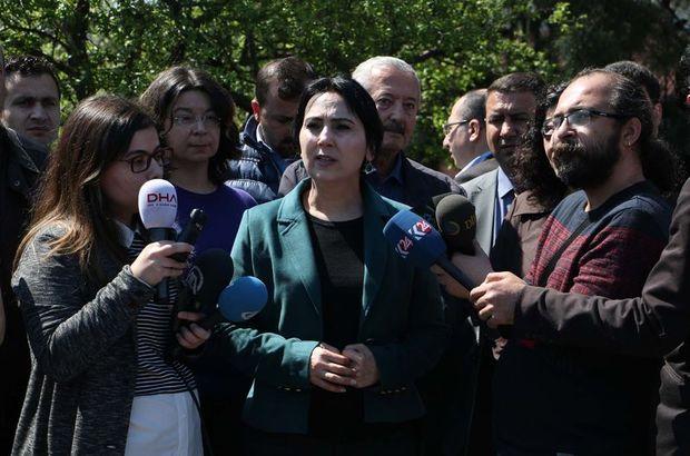 Yüksekdağ'dan akademisyenlere destek: Tutsak edilemez