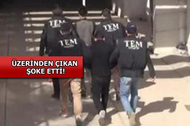 Gaziantep'te üzerinde canlı bomba yeleği fotoğrafı olan 2 DAEŞ'li yakalandı!