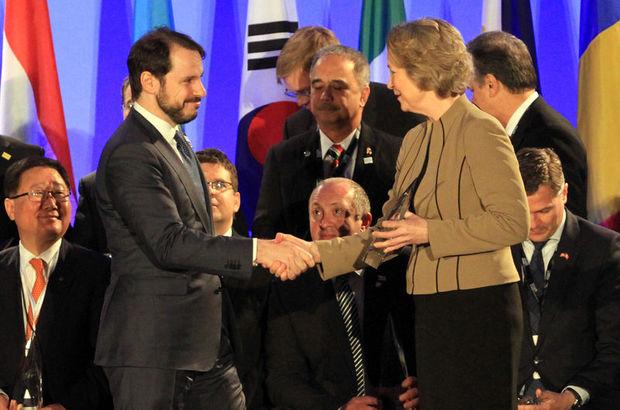 """ABD'de Türkiye'ye """"Barış Atomları Ödülü"""""""