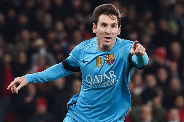 Messi El Clasico'da gol atarsa...