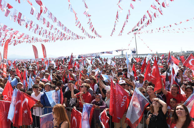 CHP'ye 2 milyonluk bayrak şoku!