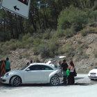 Kemer'de otomobiller çarpıştı: 4 yaralı