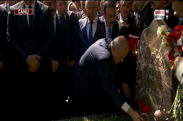 Alparslan Türkeş, vefatının 19. yılında anılıyor