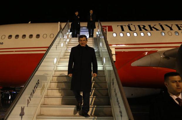 Başbakan Davutoğlu Helsinki'ye geldi
