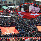 Şehit Tamer Aktaş'ı 15 bin kişi son yolcuğunu uğurladı