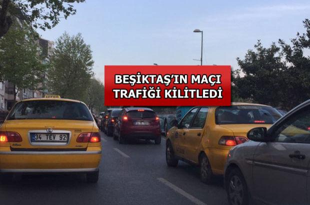 İstanbul'da 'Arena' trafiği