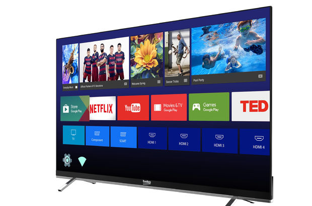 Arçelik 4K Android Ultraslim TV