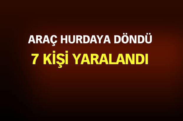 AK Partili Belediye Başkanı kaza geçirdi