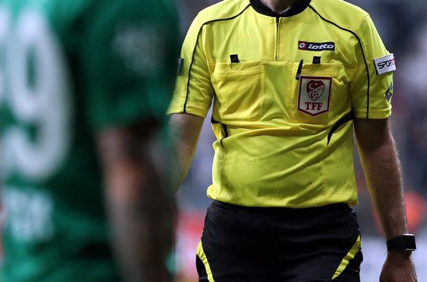 PTT 1. Lig'de 30. hafta hakemleri açıklandı