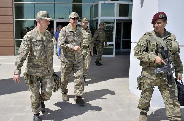 Kara Kuvvetleri Komutanı Nusaybin'de!
