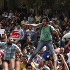 Mısır'da Tiran ve Sanafir adaları için büyük protesto