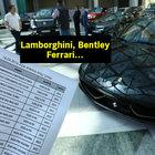 Holdingin lüks araçları böyle satıldı!