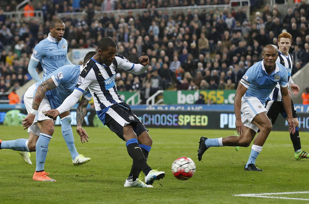 Newcastle United: 1 - Manchester City: 1
