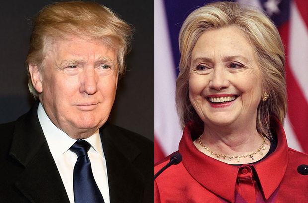 New York'ta Clinton ve Trump kazandı