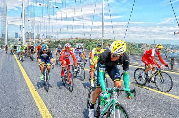 Cumhurbaşkanlığı Bisiklet Turu dolayısıyla İstanbul'da bazı yollar kapalı olacak