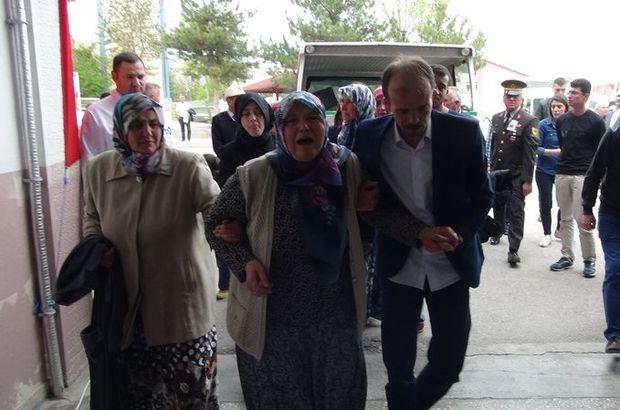 Şırnak şehidi Habib Gökçe'nin cenazesi memleketi Çorum'a getirildi
