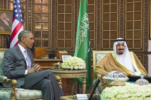 ABD Başkanı Barack Obama, Riyad'a geldi