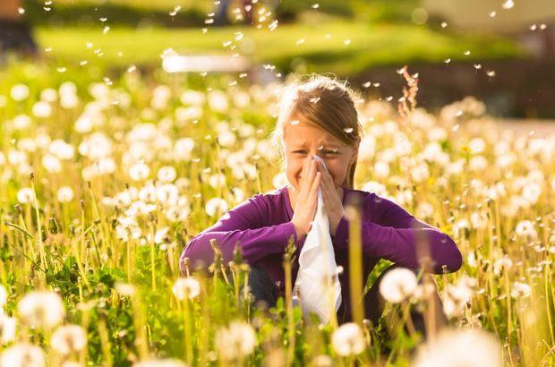 Çim polenine dikkat!
