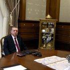 Cumhurbaşkanı Erdoğan, Hulusi Akar'ı kabul etti