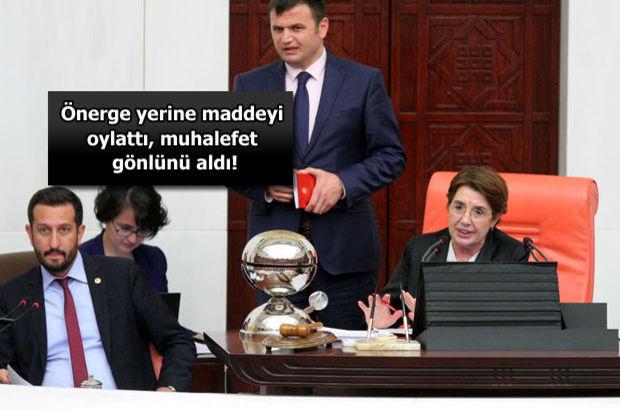 Meclis'te 'duygusal' anlar