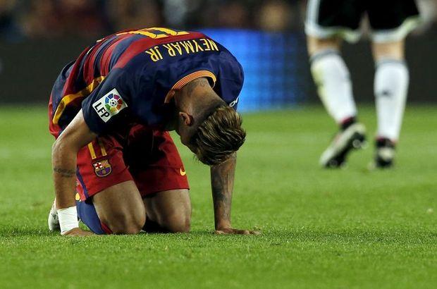 Neymar'ın fazla kiloları dikkat çekti