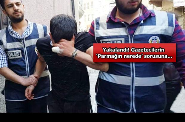 Beyoğlu'nda kopan parmağını bırakıp kaçan hırsız yakalandı