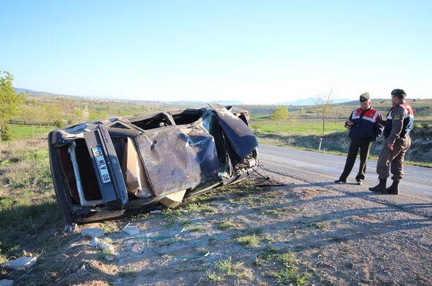 Konya'da şarampole devrilen otomobilde Erhan Boğazkaya öldü