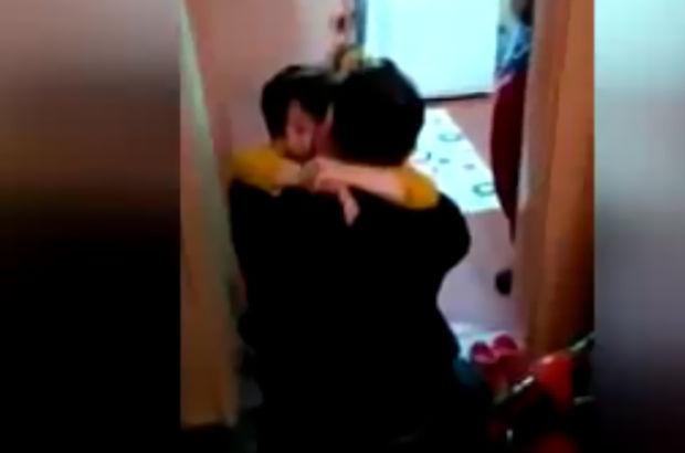 Görevden dönen özel harekat polisi ailesine böyle kavuştu