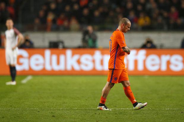Wesley Sneijder Ziraat Türkiye Kupası finalinde oynamayabilir