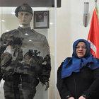 Şırnak'ta şehit olan eşinin eşyalarını müzeye bağışladı