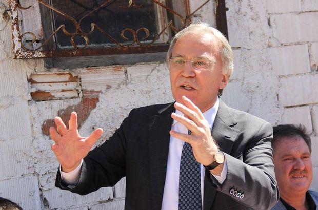 Mehmet Ali Şahin: Erdoğan demirden leblebidir