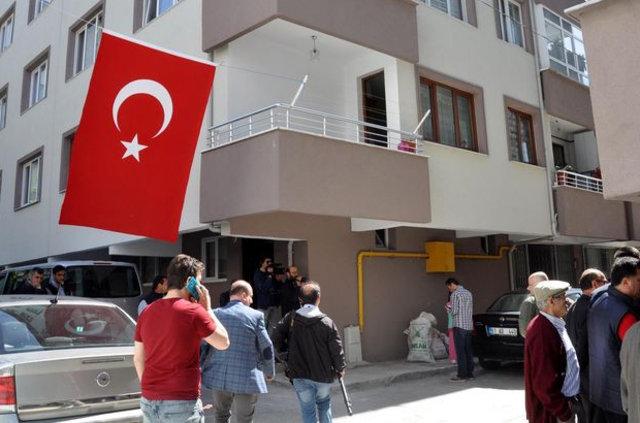 Şehit Uzman Çavuş Ethem Hacımahmutoğlu'nun memleketinde yas var