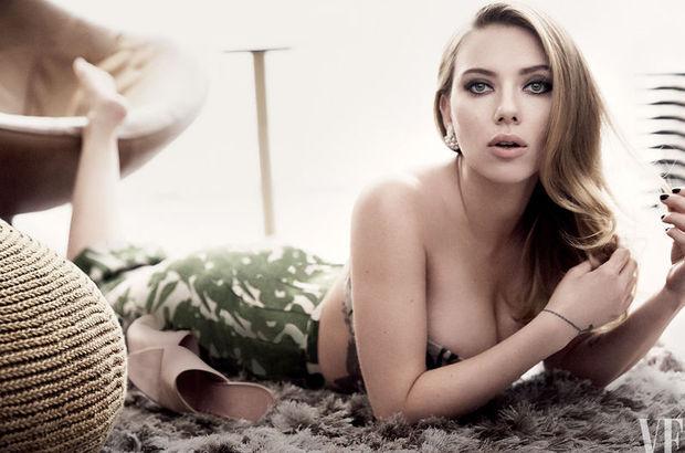 Scarlett Johansson yeni rolünü HT Cumartesi'ye anlattı