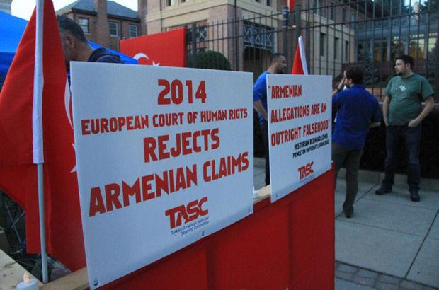 Ermeni iddialarına karşı Türkiye'ye destek