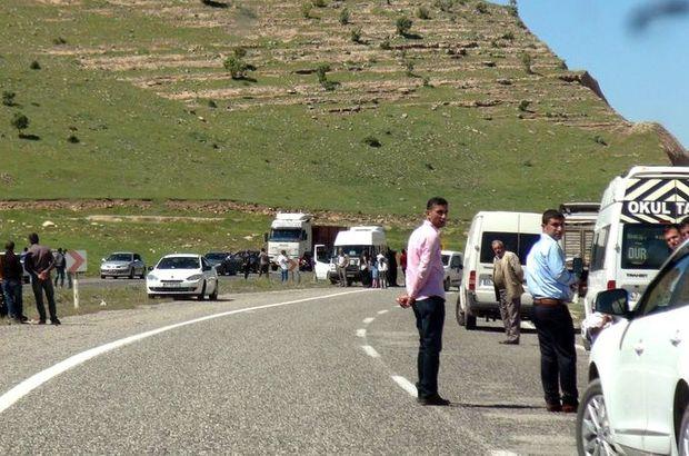 SON DAKİKA: Mardin Mazıdağı'da zırhlı aracın geçişi sırasında patlama