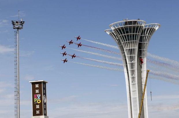 Türk Yıldızları EXPO 2016 için uçtular