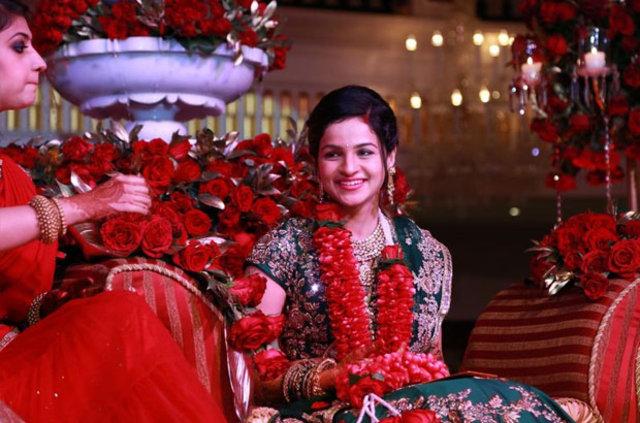Antalya'da Hint düğünü