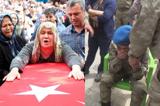Nusaybin şehidi Ethem Hacımahmutoğlu'na memleketi Kahramanmaraş'ta cenaze töreni düzenlendi