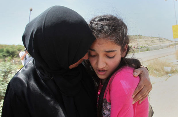 İsrail'de Filistinli 12 yaşındaki tutuklu serbest