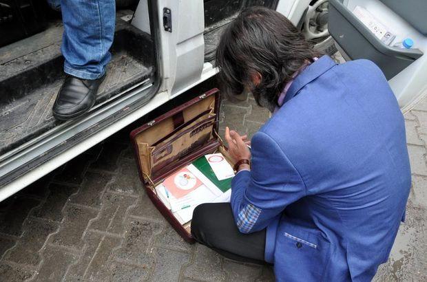 Bartın Valisi'nin oturduğu sokakta şüpheli çanta paniği