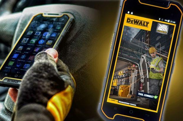 DeWalt kendi akıllı telefonunu çıkardı