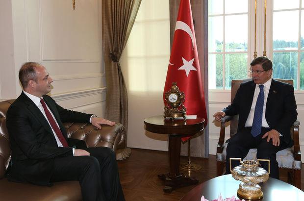 Davutoğlu, Murat Çetinkaya ile görüştü