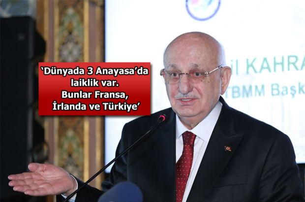 İsmail Kahraman: Yeni Anayasa'da laiklik olmamalı