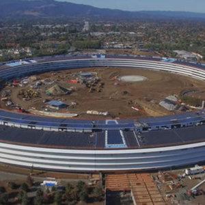 Apple'ın dev kampüsünün son hali görüntülendi!