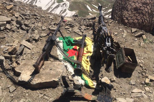 TSK'dan, PKK militanlarının saklandığı mağaraya operasyon