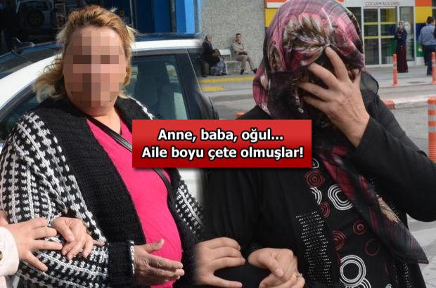 Konya'da aile boyu fuhuş çetesi: 10 gözaltı