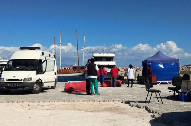Kos Adası'ndan Güllük Limanı'a 31 göçmen getirildi